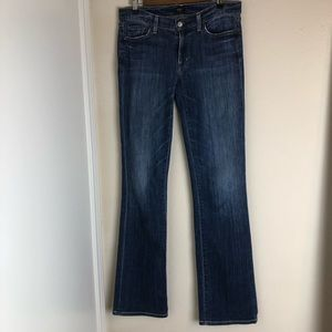 COH Los Angeles bootcut distressed jeans